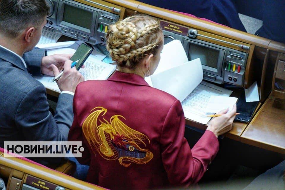 Анна Скороход показала новый пиджак.