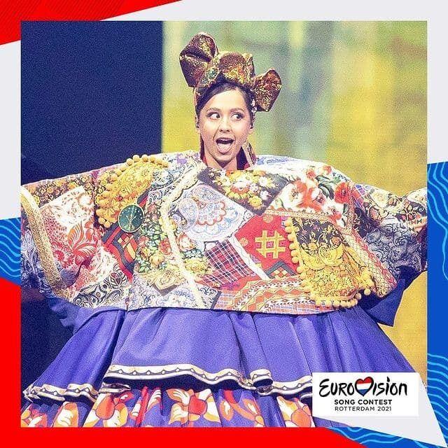 Manizha виступила на музичному конкурсі Євробачення 2021