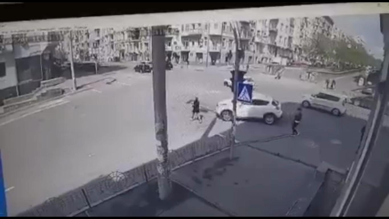 Момент аварии