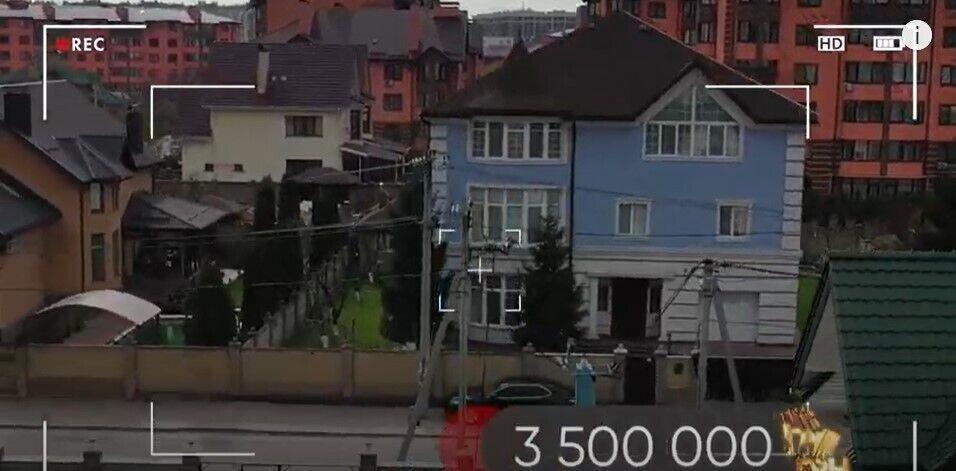 Как выглядит дом Разумкова снаружи.