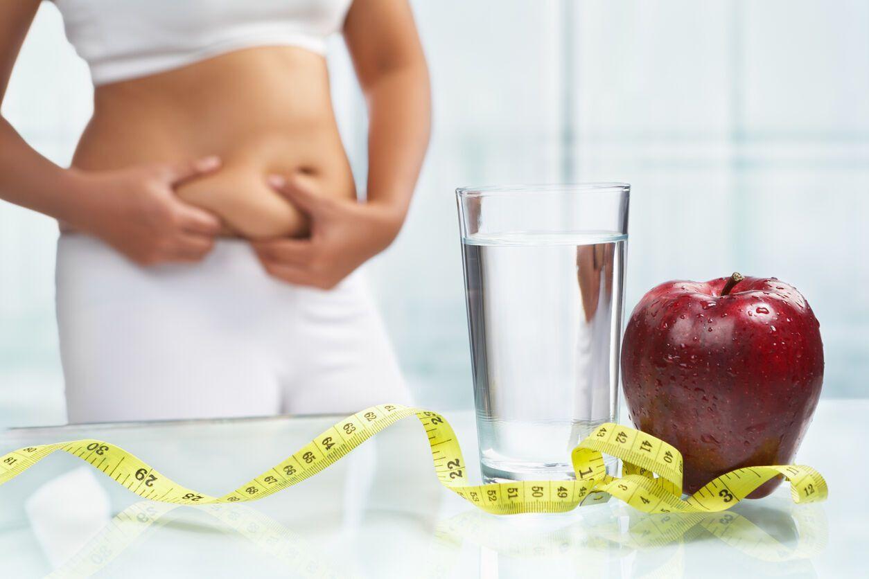 Часто абдомінальний тип ожиріння супроводжується метаболічним синдромом – порушенням толерантності до вуглеводів і діабетом другого типу