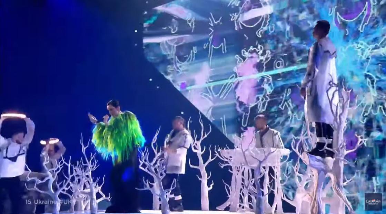 Выступление украинской группы на конкурсе