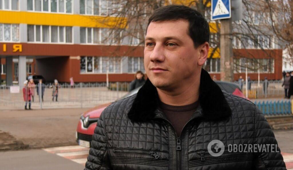 Депутат Черкасского горсовета Алексей Мельник