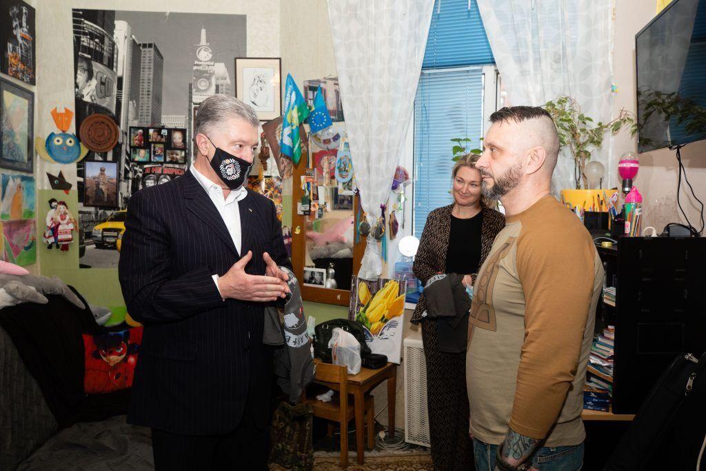 Порошенко встретился с Антоненко.