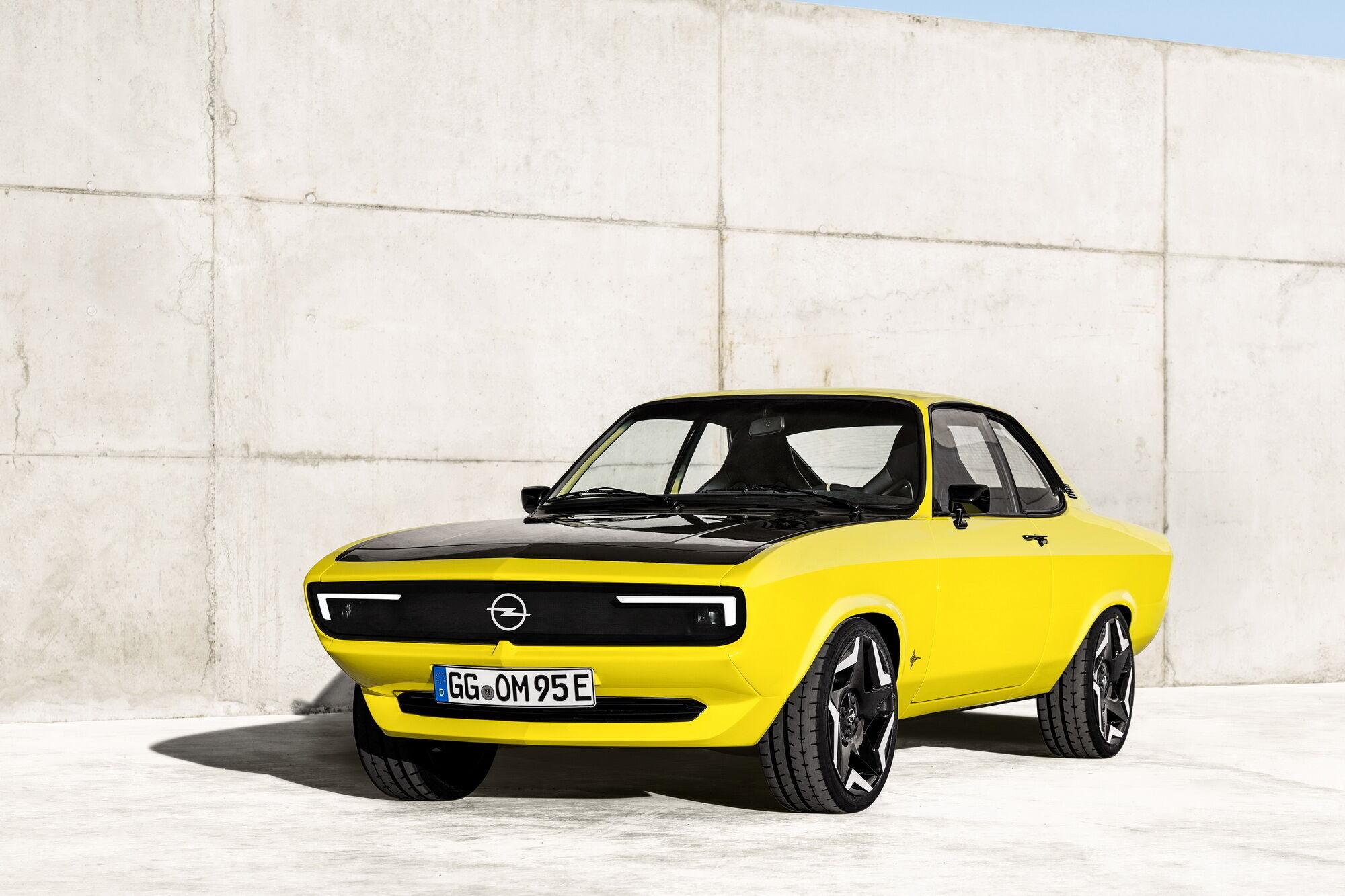 Opel Manta 50 лет спустя