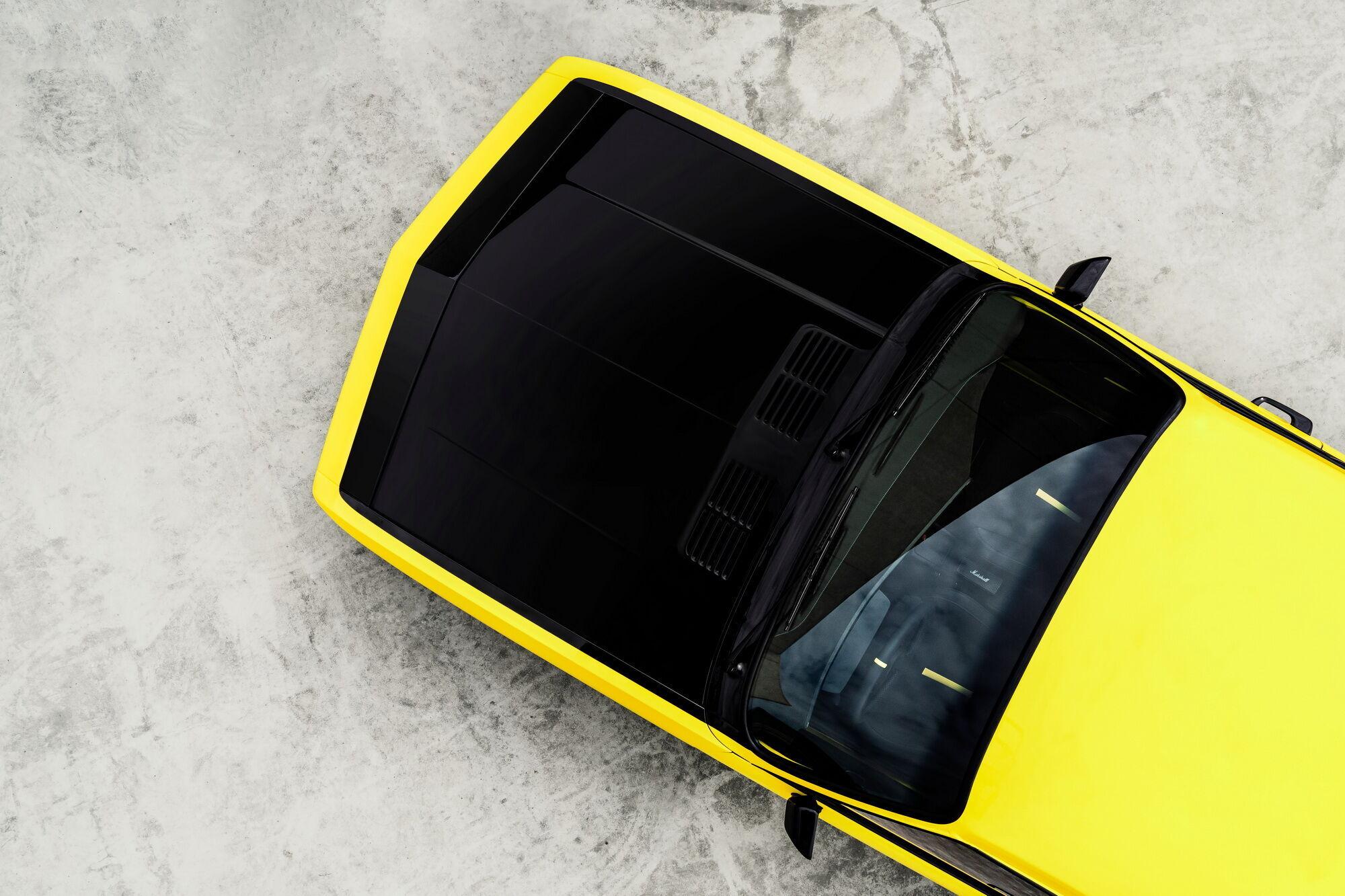 Связь поколений подчеркивает и характерная ярко-желтая окраска с черным капотом