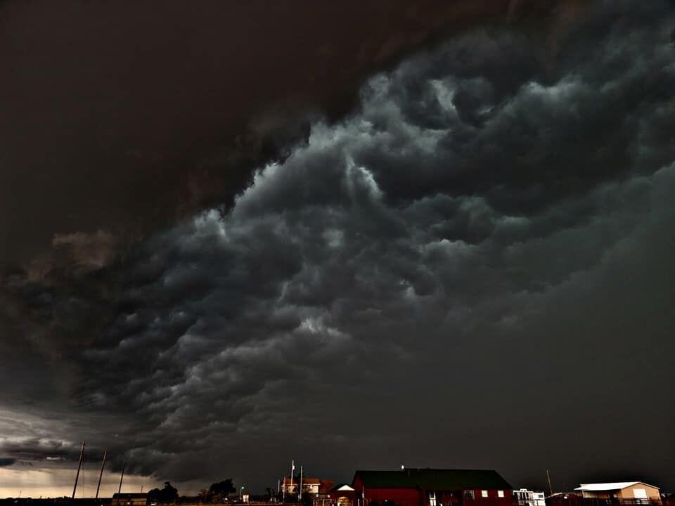 Грозове небо над Техасом