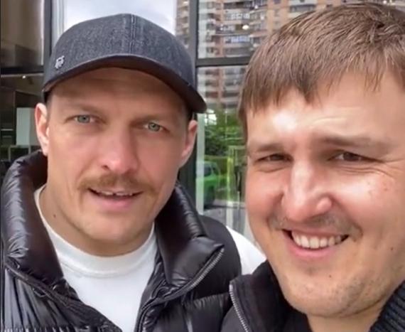 Александр Усик и Александр Красюк.