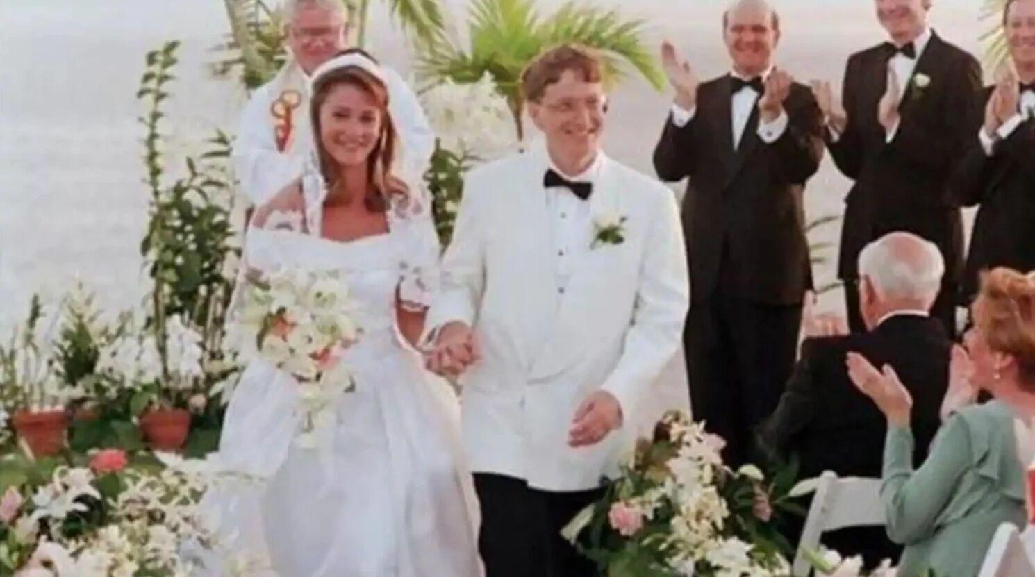 Билл и Мелинда поженились в 1994 году на Гавайях.