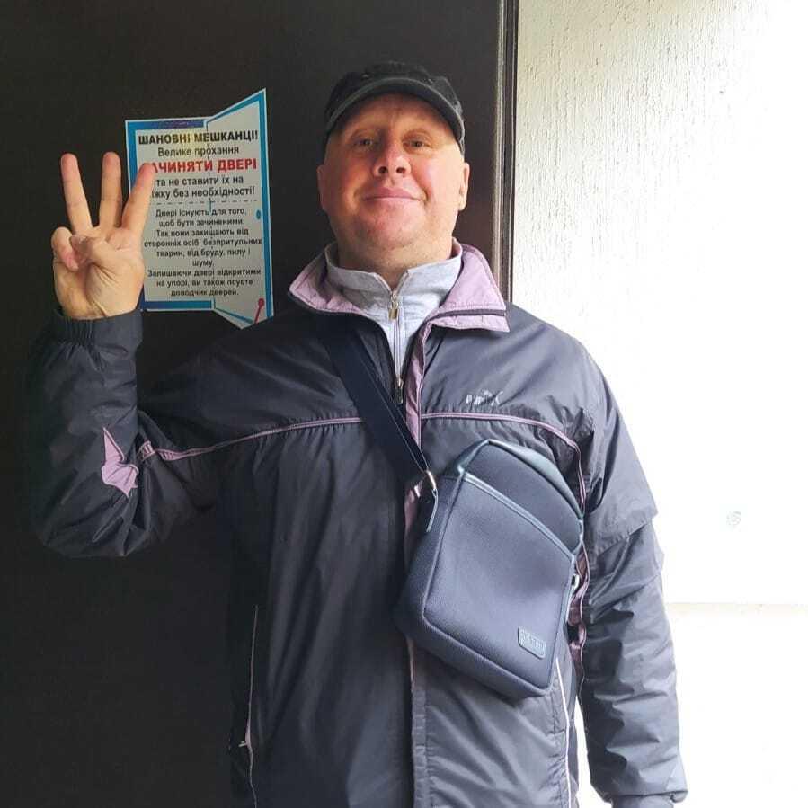 У Житомирі звільнили з-під варти кіборга ДАП Леоніда Чемоданова