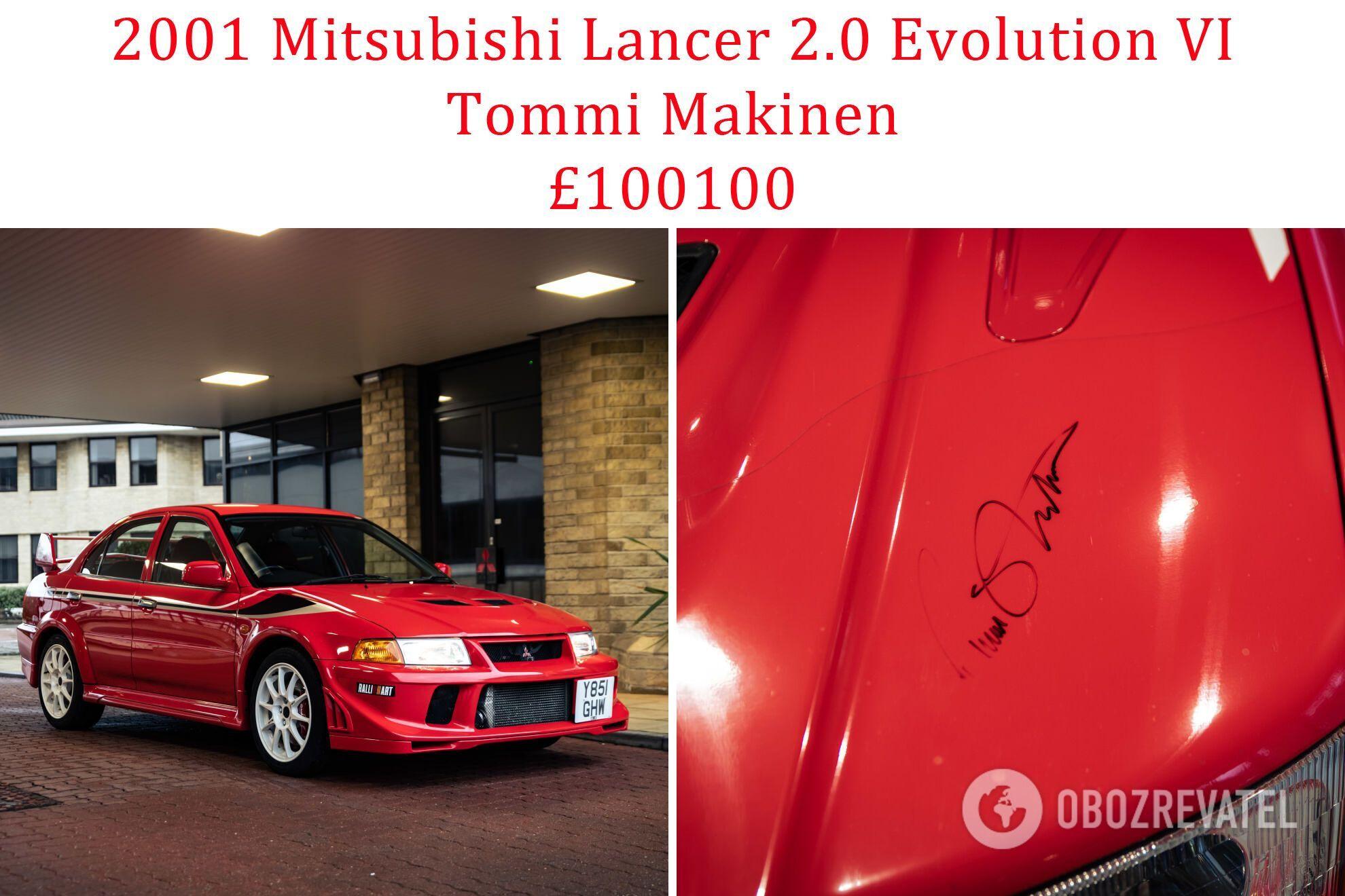 2001 Mitsubishi Lancer 2.0 Evolution VI Tommi Makinen