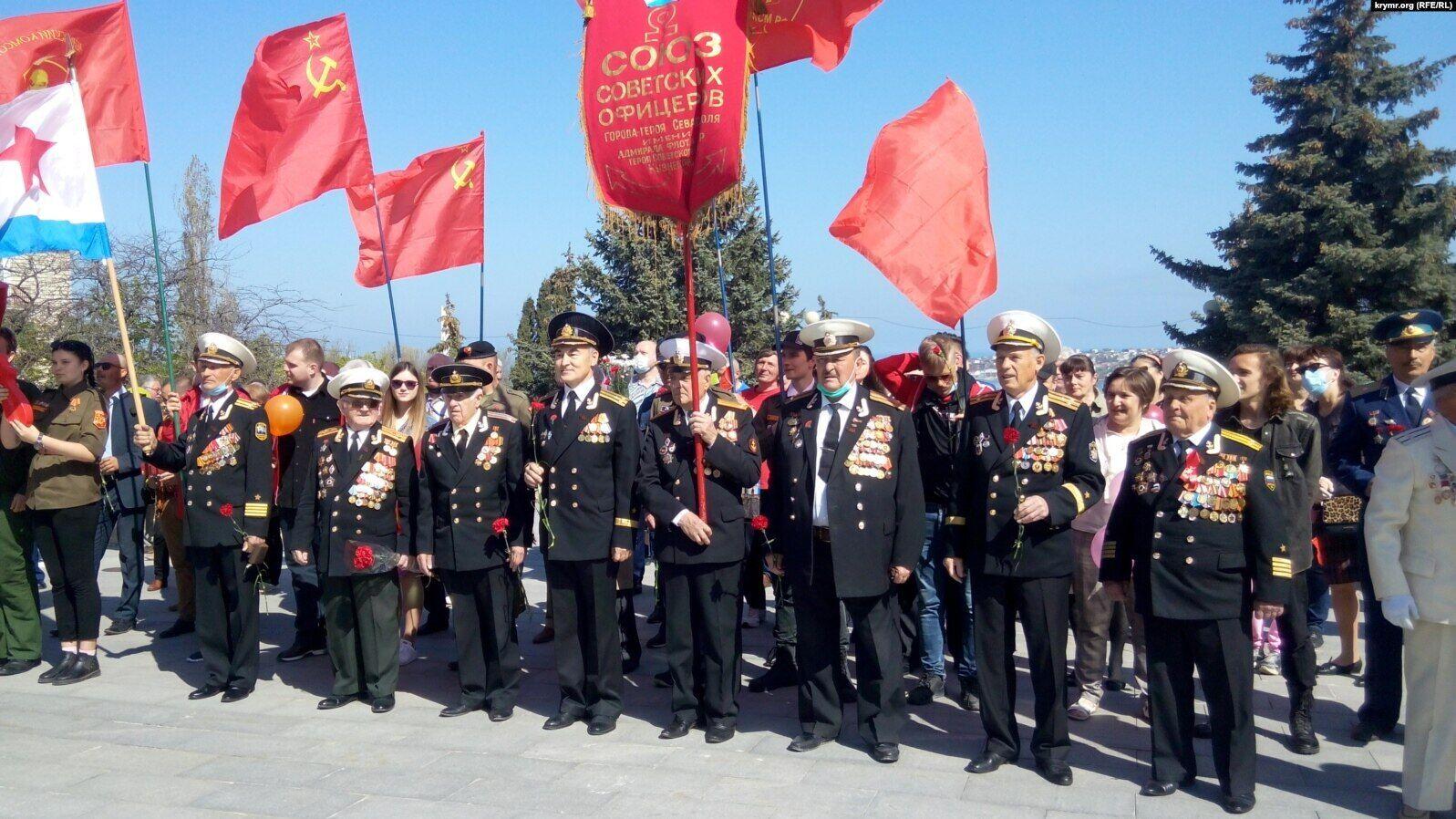 Святкування 1 травня в Севастополі