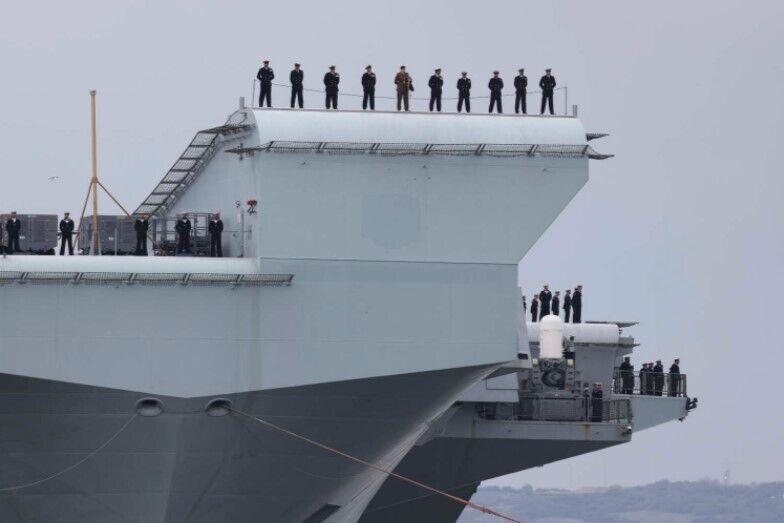 Британская группа #CarrierStrike готовится к заключительному испытанию.