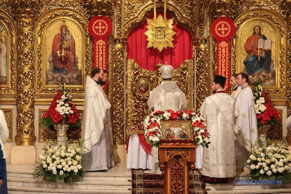 Літургія у Михайлівському соборі