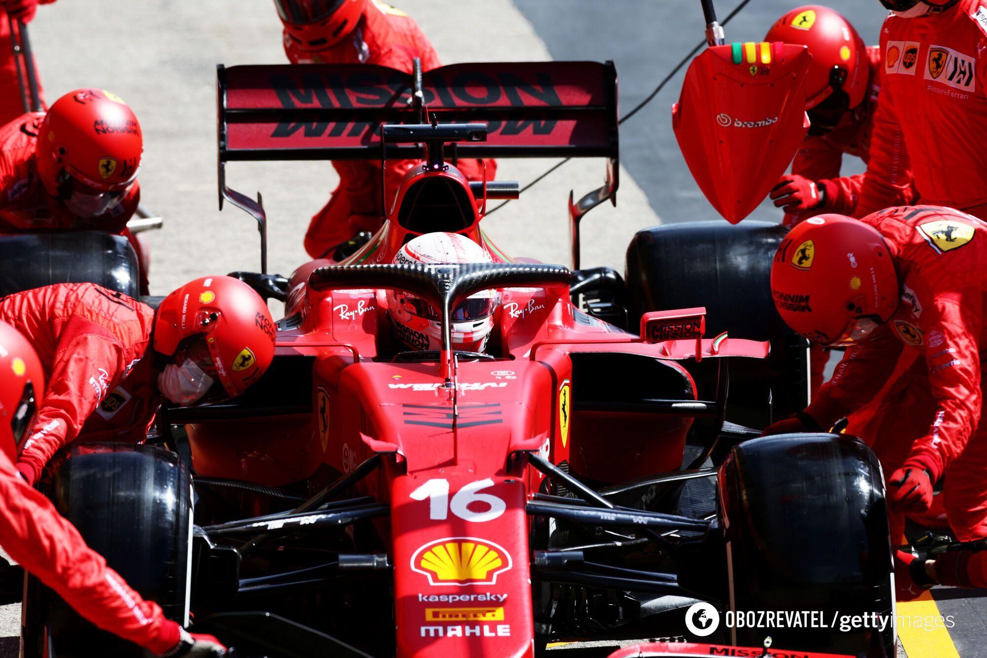 Ferrari не змогли показати високий результат