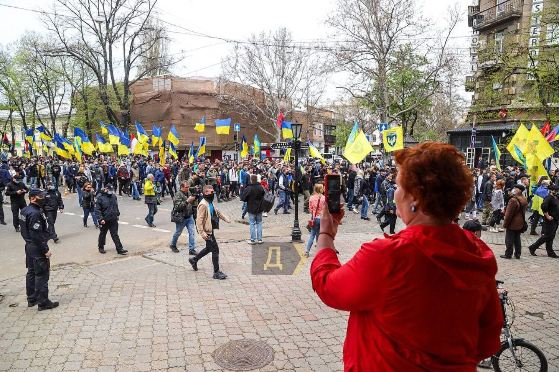 В марше и митинге приняло участие примерно 1200 человек.