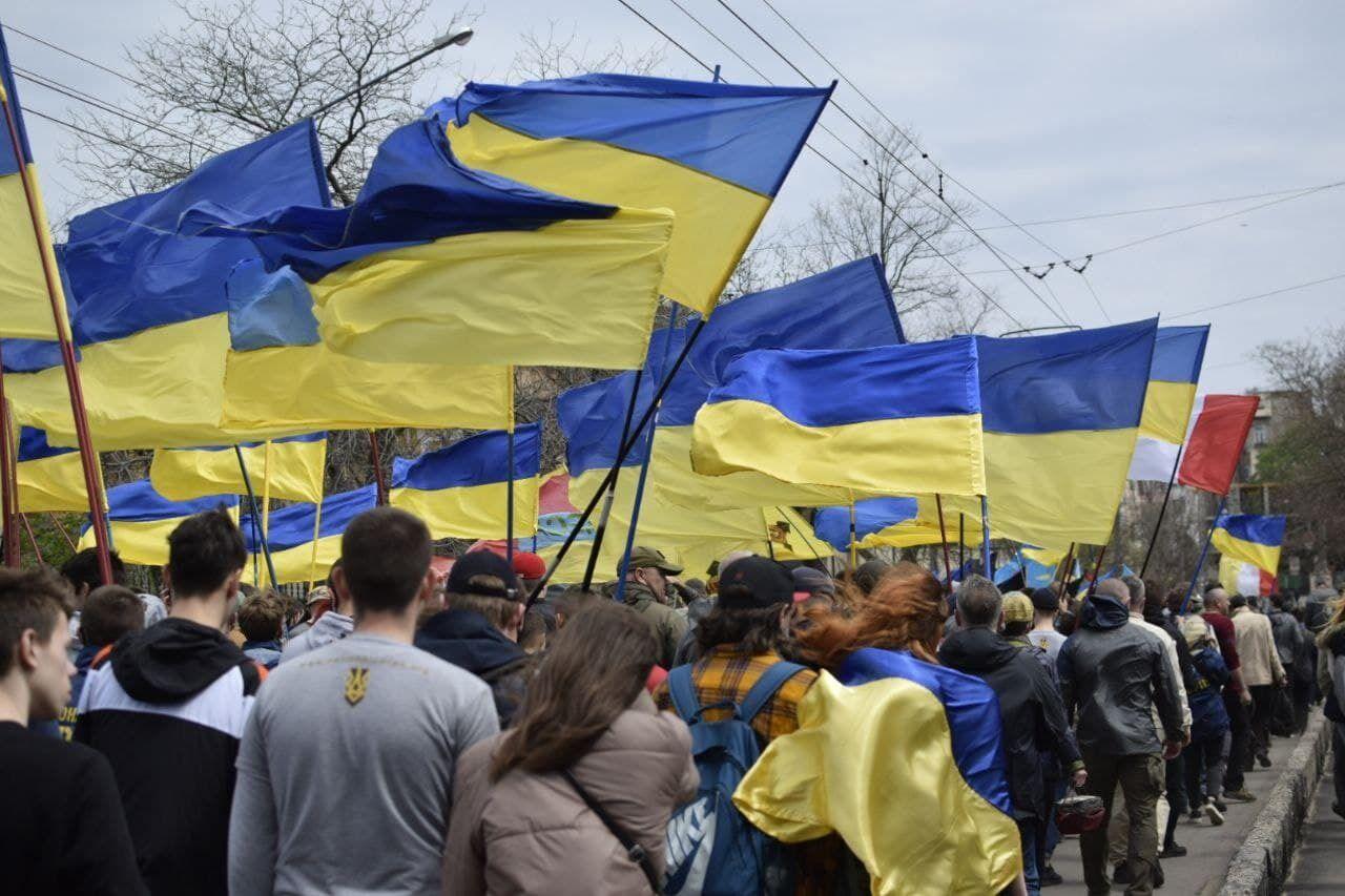 """В Одесі відбувся масштабний """"Марш захисників"""" міста"""