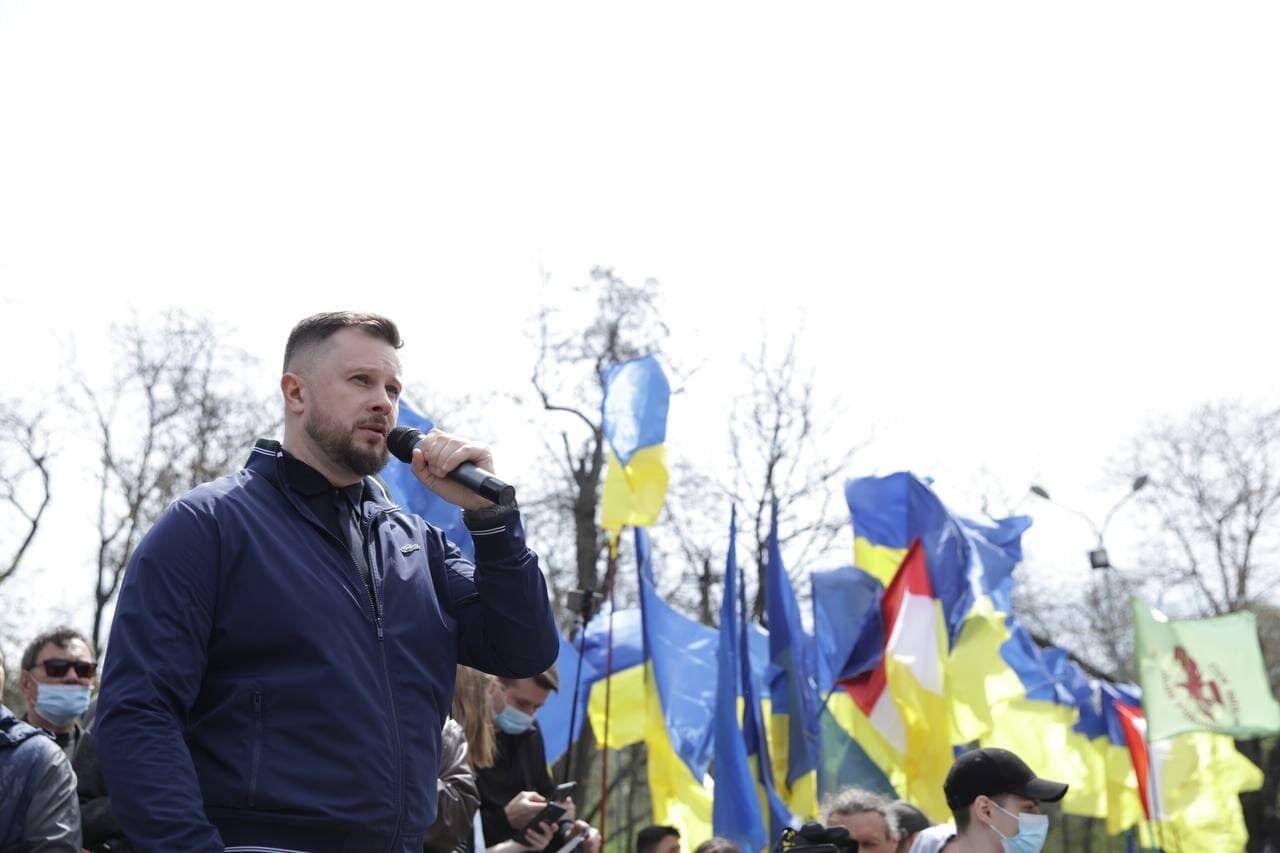 """Білецький заявив, що росіян, які мріють захопити Одесу, """"не чекає тут нічого, крім трун"""""""