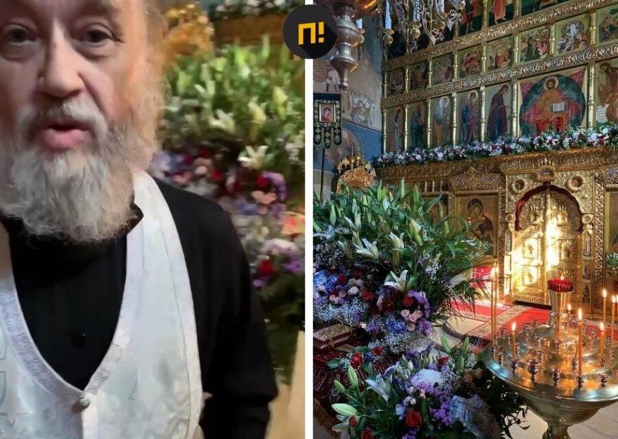 Священник із церкви Симеона Стовпника вдарив чоловіка