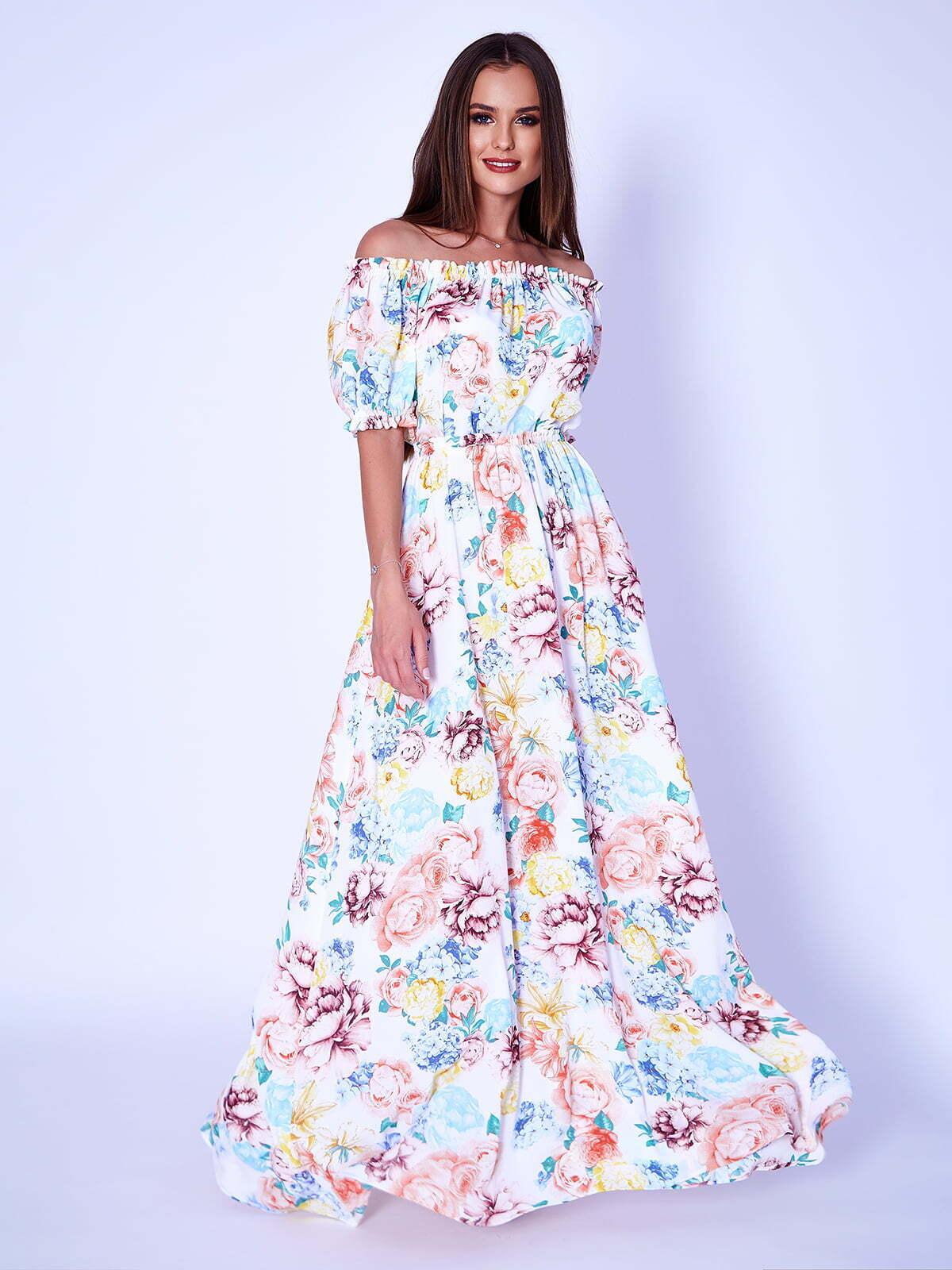 Платье в пасторальном стиле снова в моде.