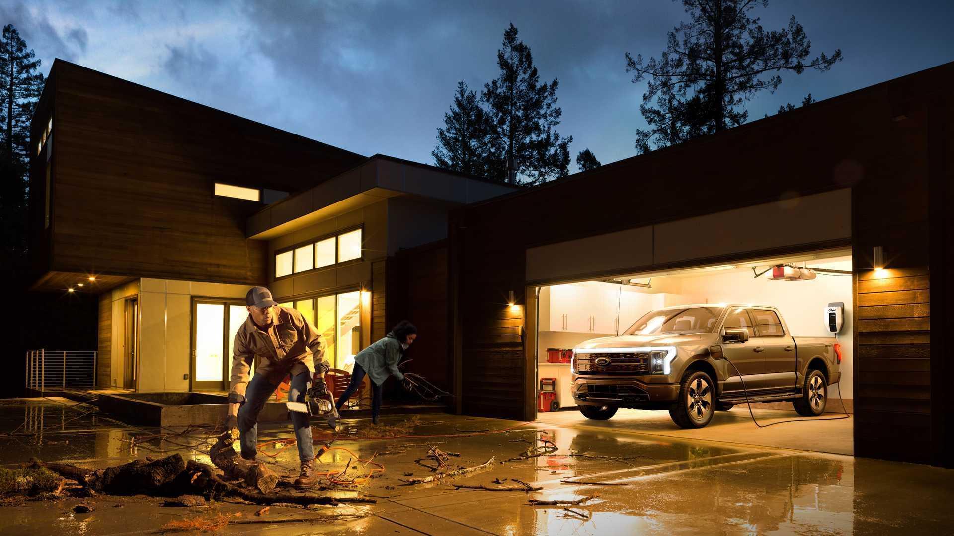 Автомобиль сможет питать дом электроэнергией в течение трех дней