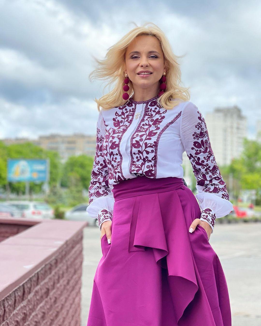 Лілія Ребрик в вишиванці