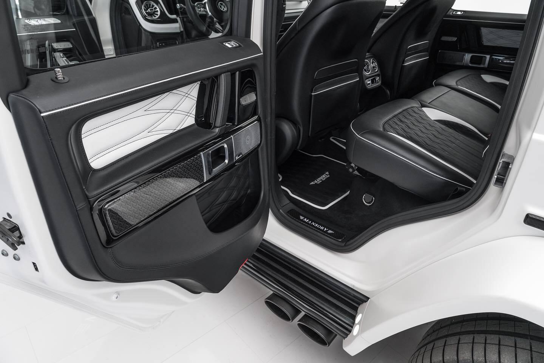 Задняя часть салона Mansory Mercedes-Benz G63 AMG Viva Edition