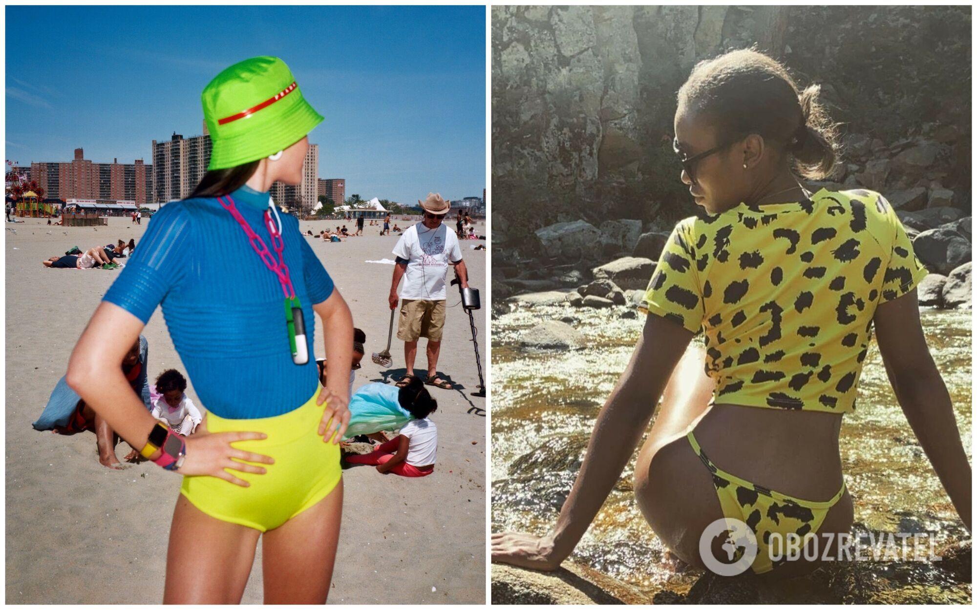 Актуальные новинки спортивных купальников ищите у брендов от Ookioh до Ansea.