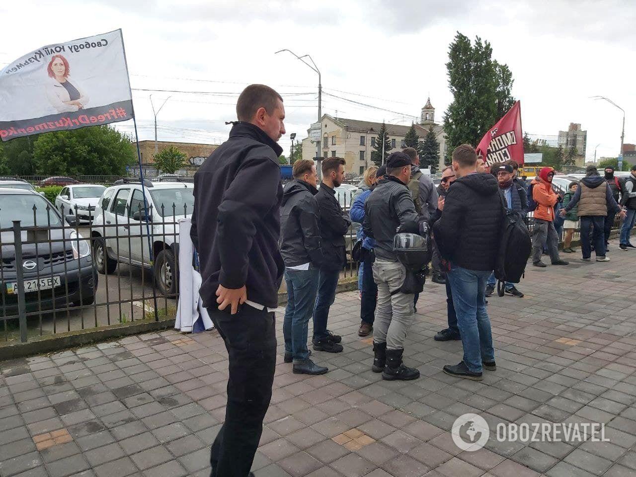 """Мітингувальники прийшли під """"Антонов"""""""