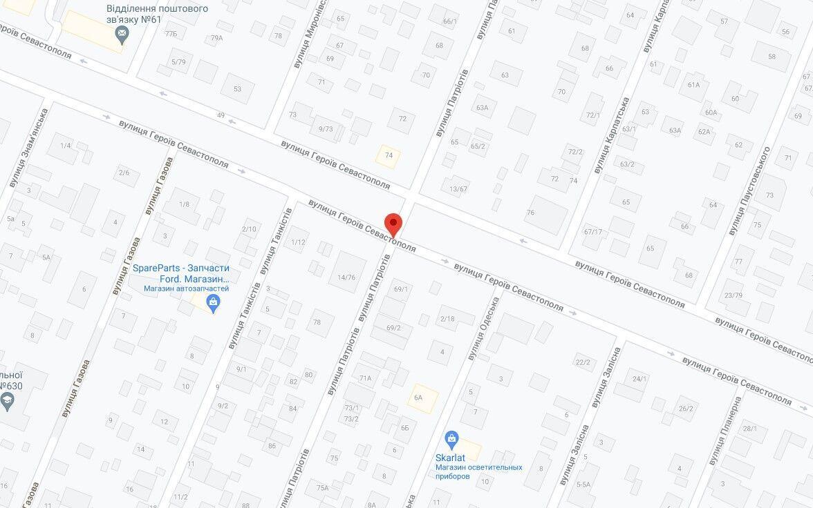 Авария произошла в Соломенском районе.