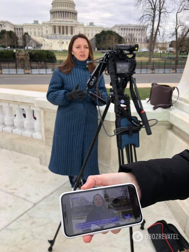 Мирослава Гонгадзе строит успешную карьеру журналиста в США