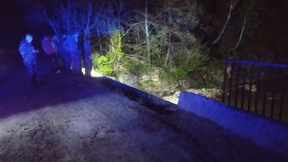 На Прикарпатье лесовоз слетел в реку и унес жизни двух людей: стала известна причина. Фото
