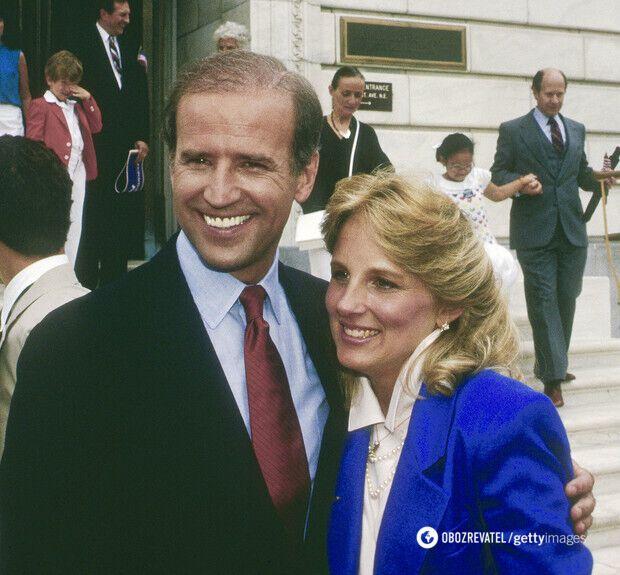 1987 год. На снимке Джилл 36 лет, Джо – 45