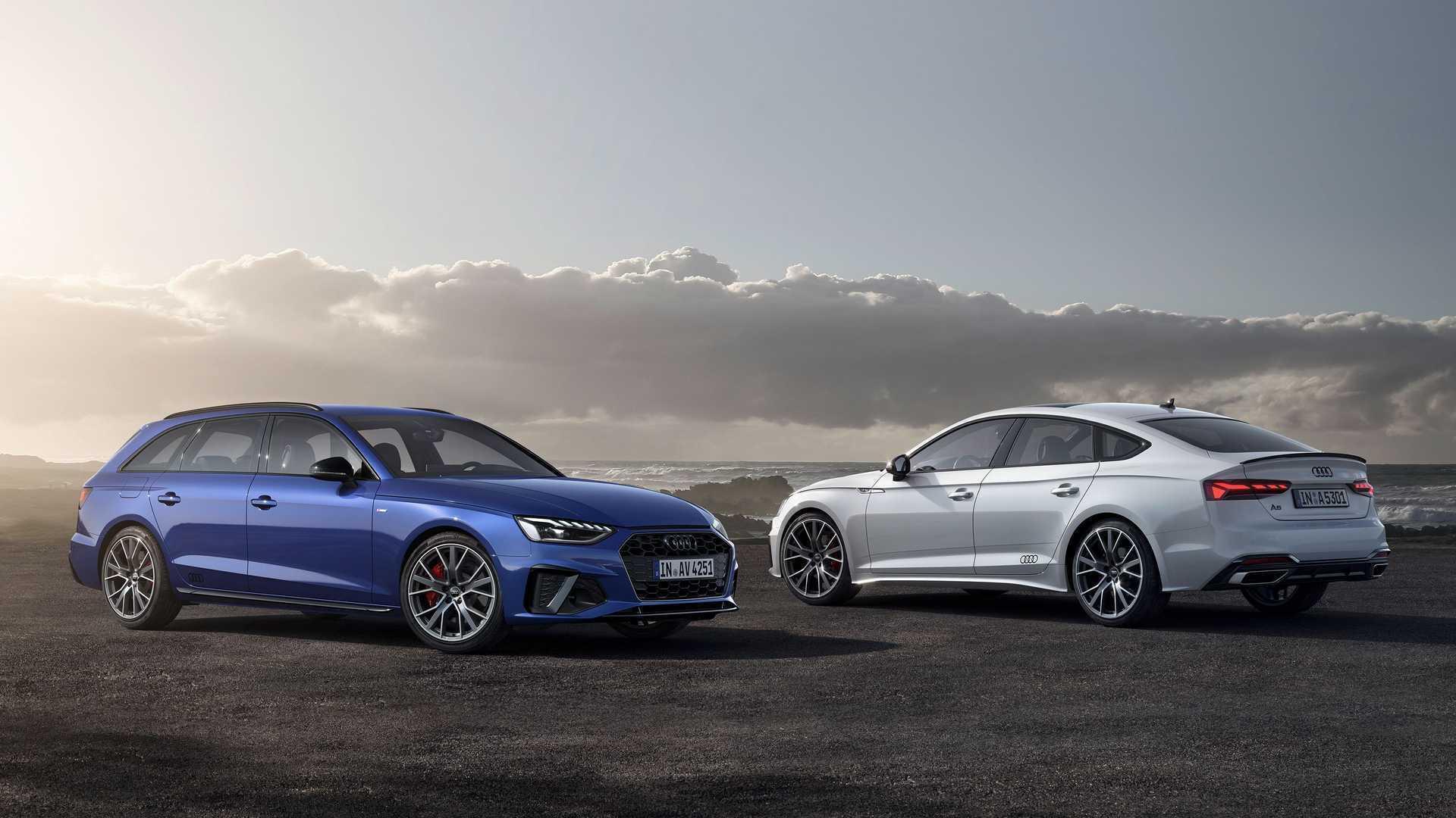 "Для Audi A4 и A5 предлагаются пакеты ""S line competition"" и ""S line competition plus"""