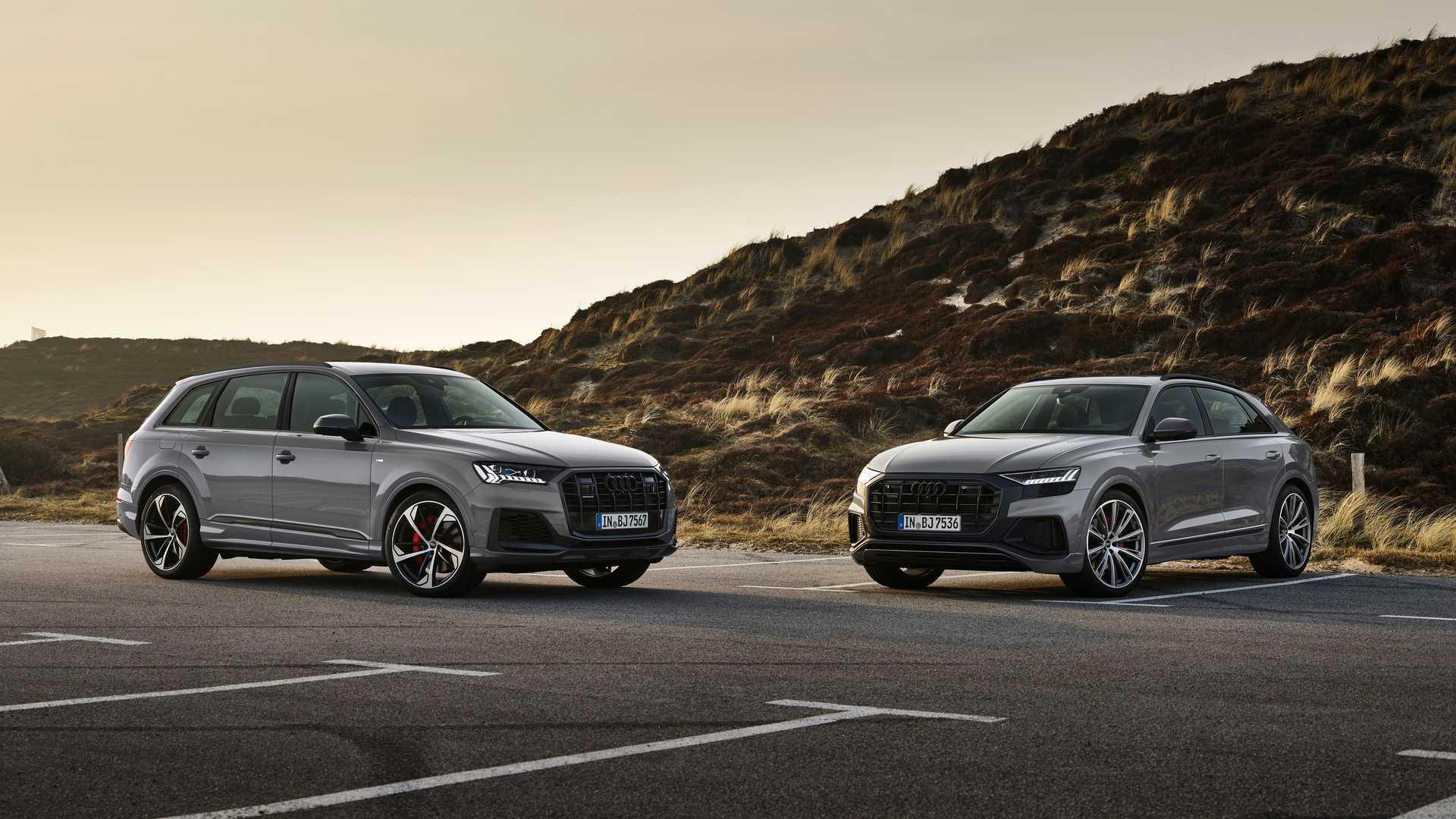 Покупателям Audi Q7 и Q8 будут предложены версии в исполнении competition plus