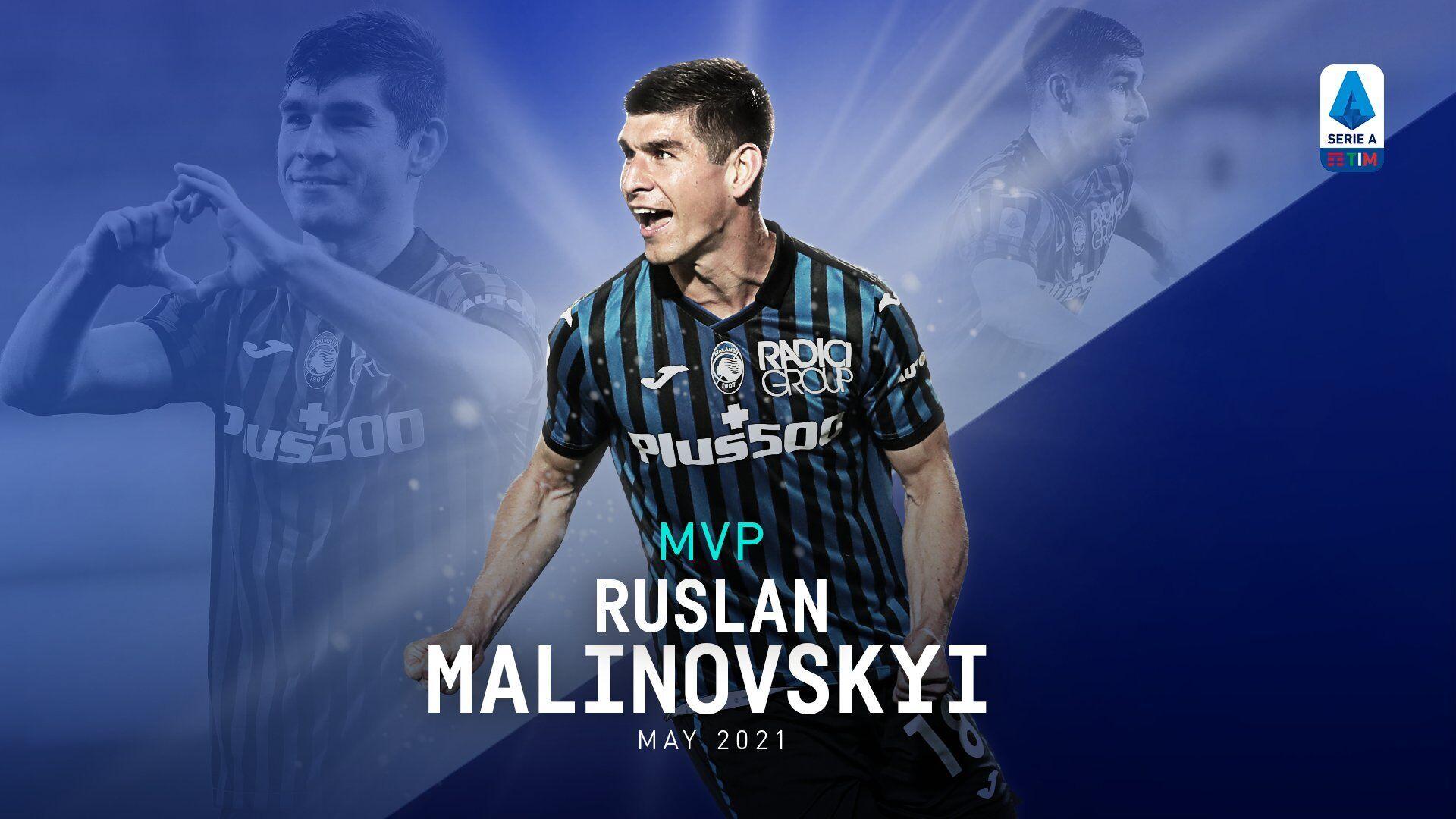 Малиновский – лучший игрок мая в Италии.