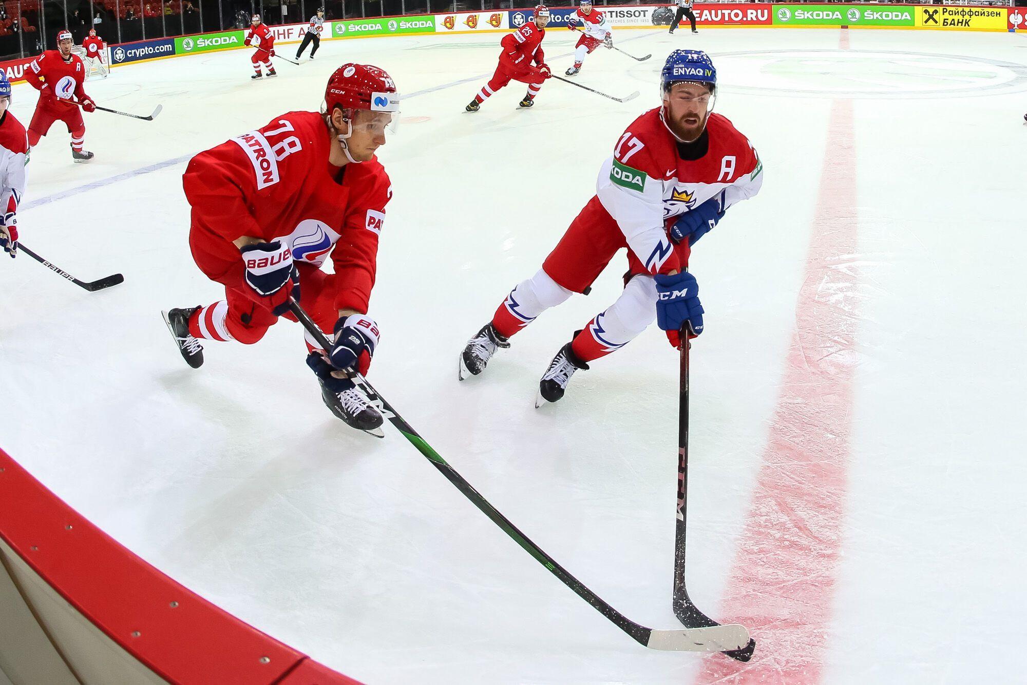 Чехия трижды отыгрывалась в матче.