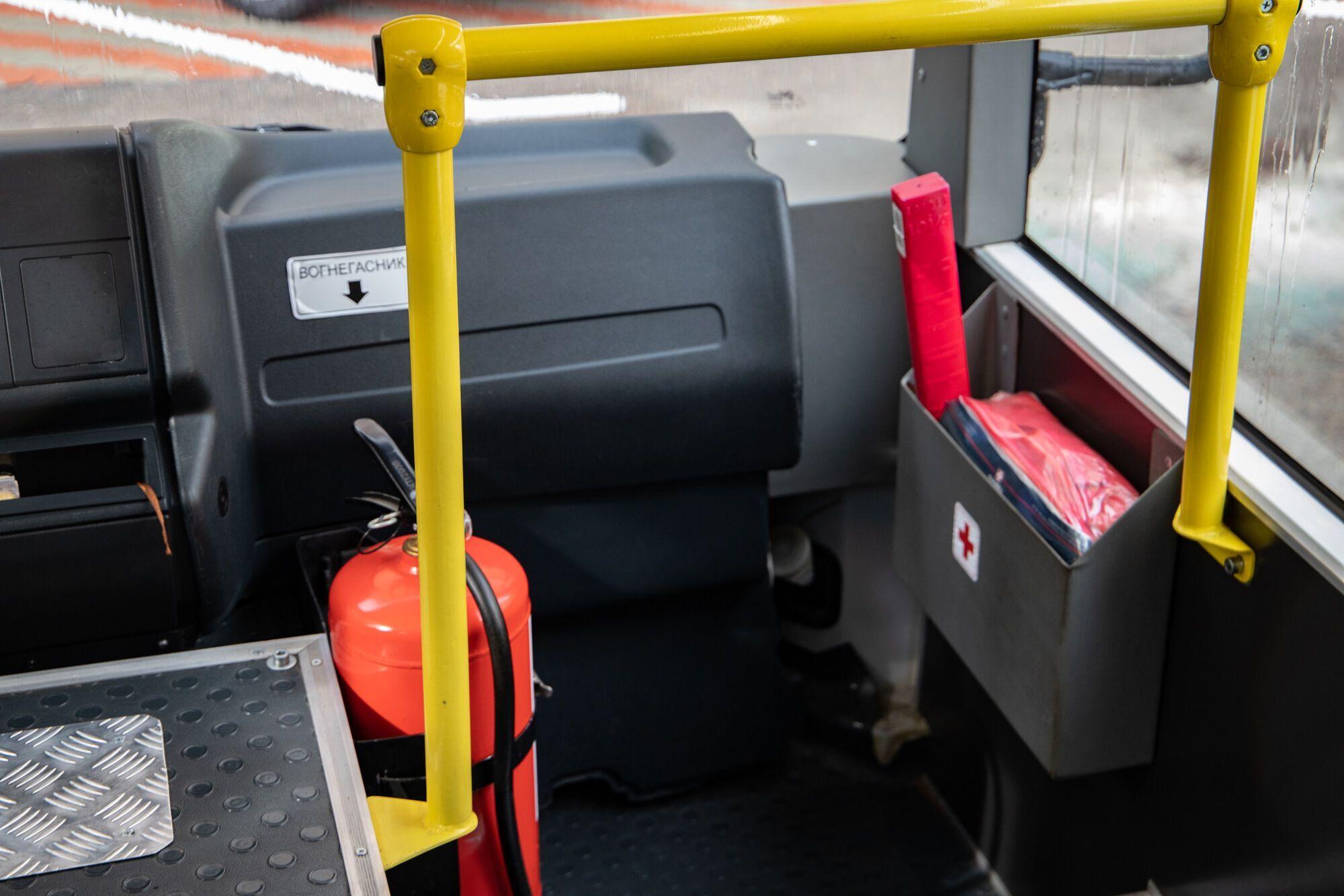 В каждом автобусе будет валидатор для е-билета.