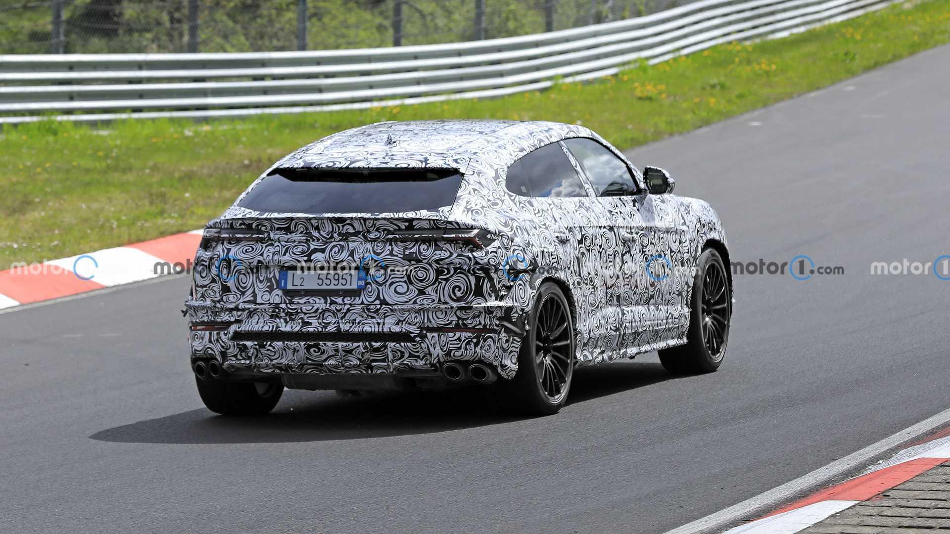 Оновлений Lamborghini Urus