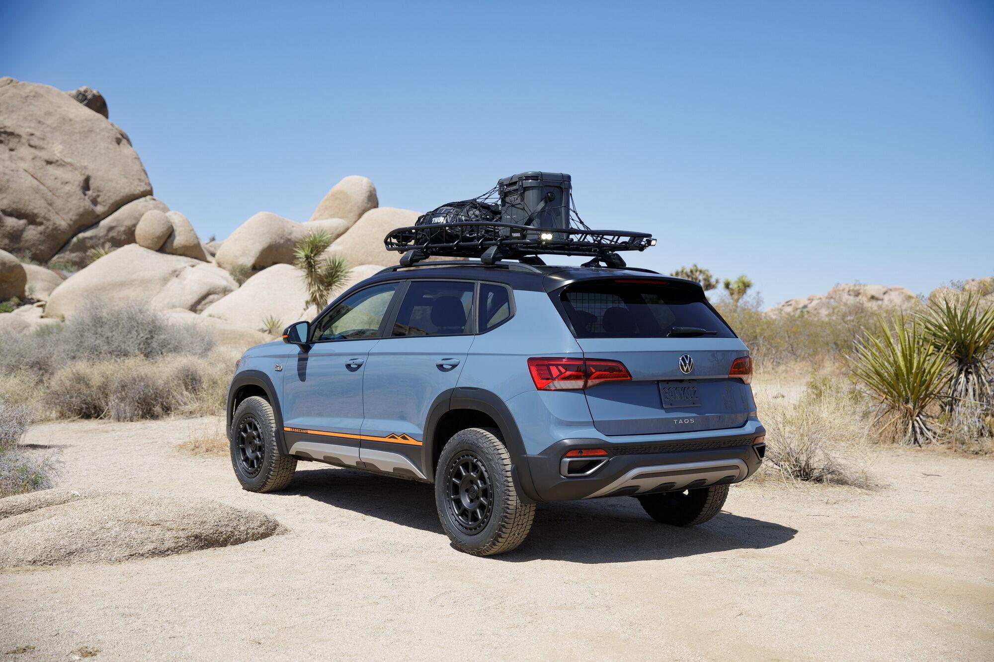 Над созданием Taos Basecamp Concept трудилась команда калифорнийского дизайн-центра компании