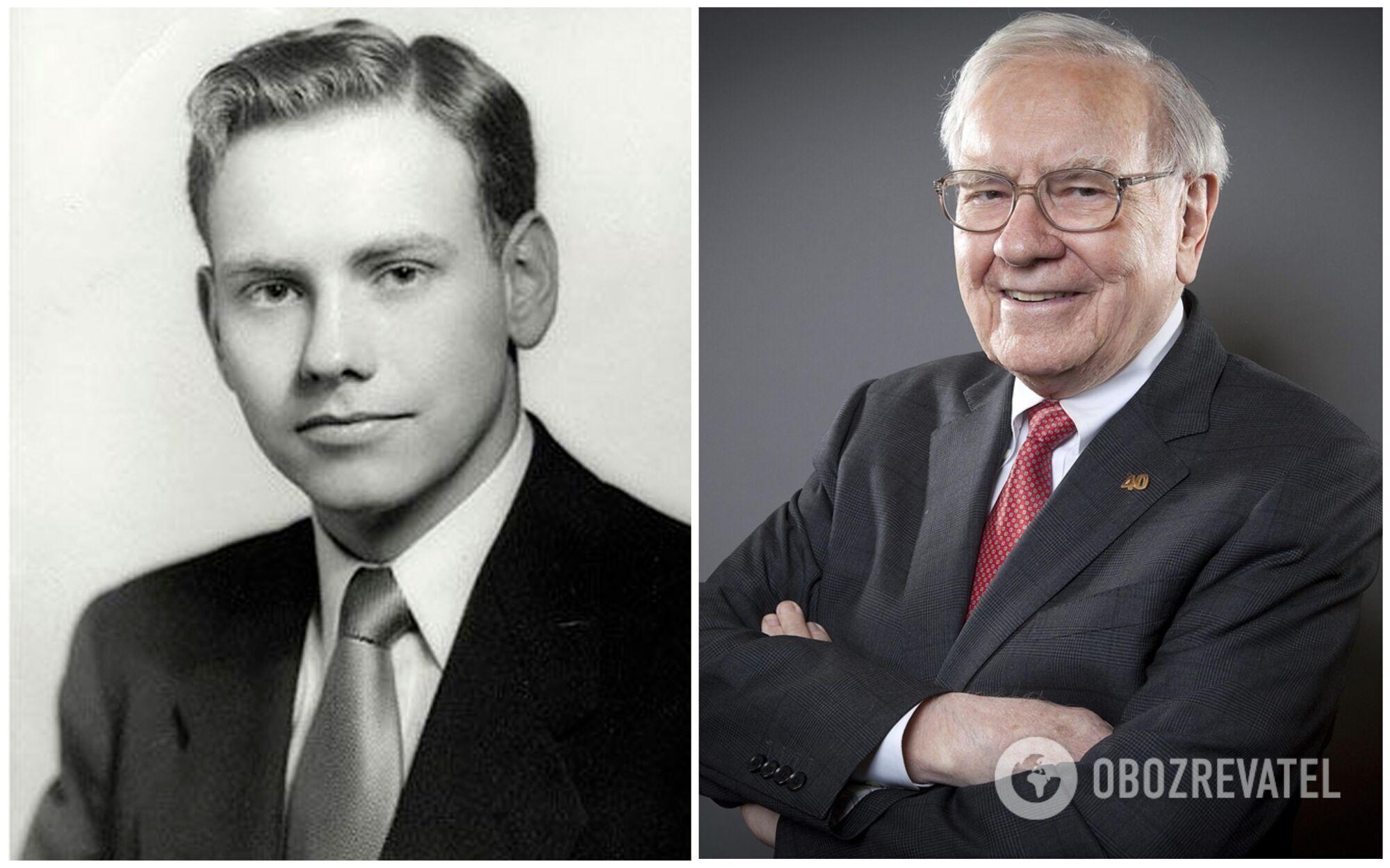 Уоррен Баффет вже в 11 років вперше спробував себе на біржі