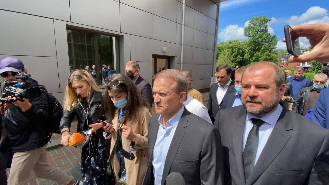 Медведчук прийшов до суду