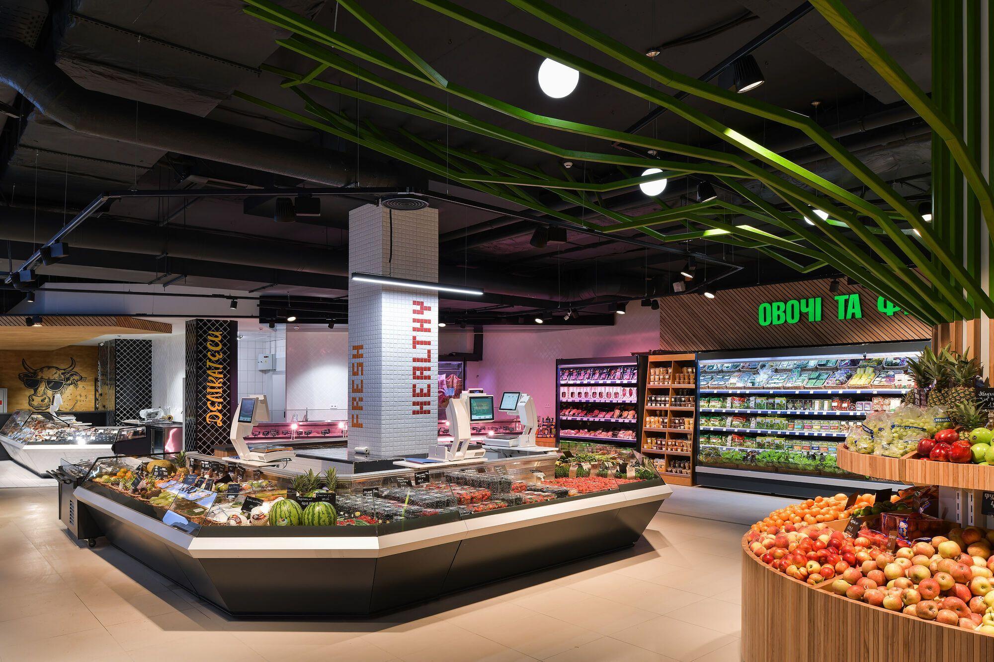 Ultramarket открылся в ЖК San Francisco Creative House