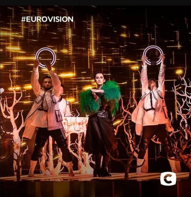Украинская группа Go_A на Евровидении 2021