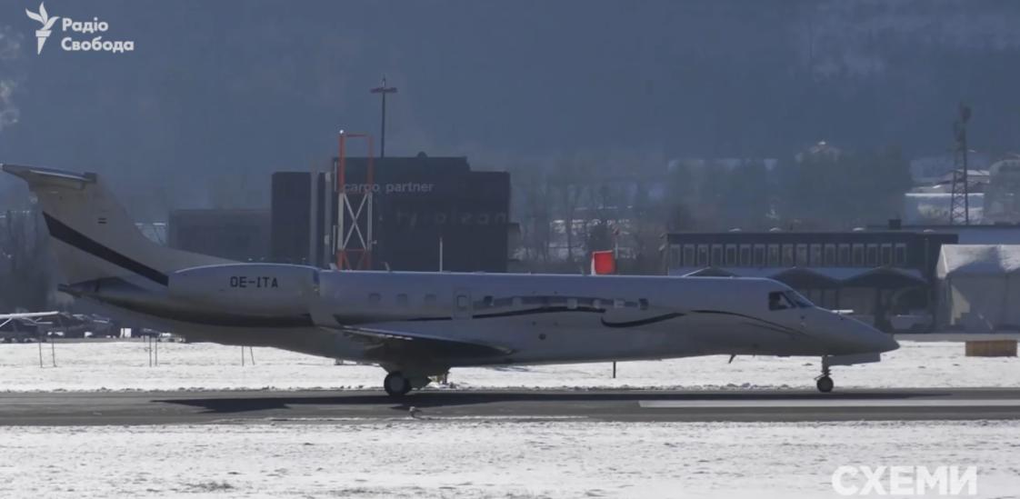 Embraer 650, який замість свого літака використовував Козак