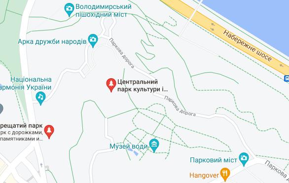 Інцидент трапився в самому центрі Києва.