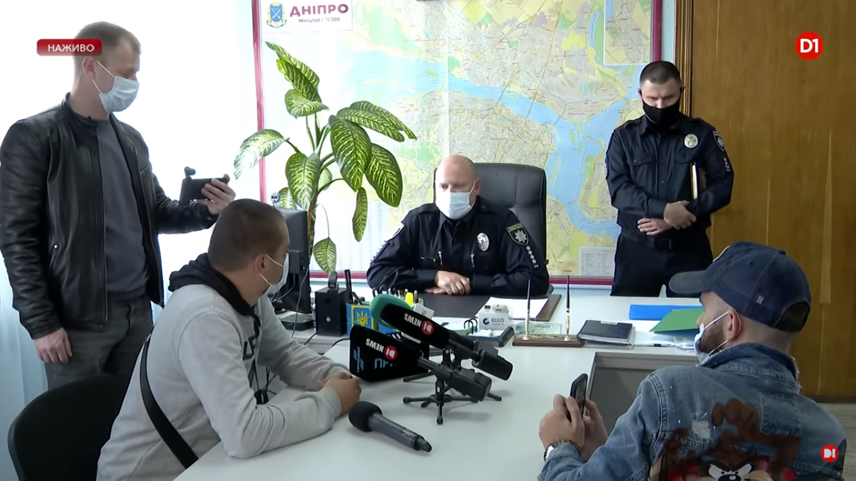 Калиняк та керівники УПП у Дніпропетровській області