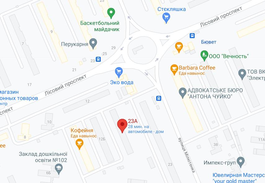 """Дом находится недалеко от станции метро """"Лесная""""."""