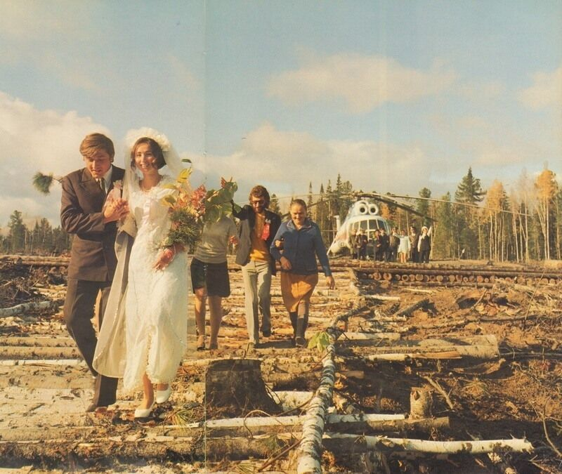 У мережі з'явилися фото весілля у СРСР