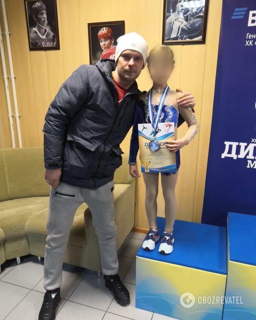 Денис Егоров с подопечными